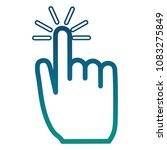 hand mouse cursor pointer icon | Shutterstock .eps vector #1083275849