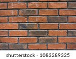 brown brick wall background | Shutterstock . vector #1083289325