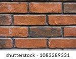 brown brick wall background | Shutterstock . vector #1083289331