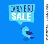 early bird special discount... | Shutterstock .eps vector #1083294581