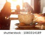 capuccino  mocha  latte... | Shutterstock . vector #1083314189