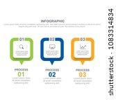 square infographic design... | Shutterstock .eps vector #1083314834