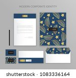 corporate identity business set.... | Shutterstock .eps vector #1083336164