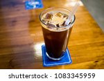 ice americano coffe
