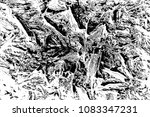 abstract background. monochrome ... | Shutterstock . vector #1083347231