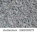 crushed stone. the background... | Shutterstock . vector #1083350075