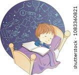 illustration of a kid boy... | Shutterstock .eps vector #1083360821