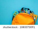 back to school concept.... | Shutterstock . vector #1083373091