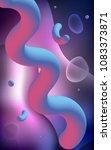 dark purple vertical background ... | Shutterstock . vector #1083373871