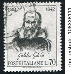 italy   circa 1964  stamp... | Shutterstock . vector #108338111