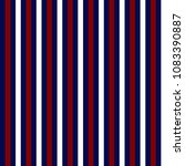 red  white  and blue stripes... | Shutterstock .eps vector #1083390887