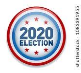 2020 united states of america...   Shutterstock .eps vector #1083391955