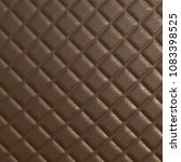 brown leather background with... | Shutterstock . vector #1083398525