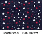 abstract pattern with red and... | Shutterstock .eps vector #1083400595