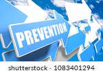 prevention   text concept with...   Shutterstock . vector #1083401294