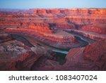 dead horse point state park ... | Shutterstock . vector #1083407024