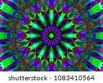 decorative fantasy   flower... | Shutterstock . vector #1083410564