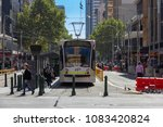 melbourne city tram service... | Shutterstock . vector #1083420824