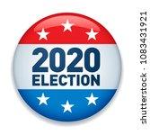 2020 united states of america...   Shutterstock .eps vector #1083431921