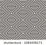 vector seamless pattern. modern ... | Shutterstock .eps vector #1083458171