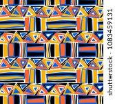seamless textile pattern print .... | Shutterstock .eps vector #1083459131