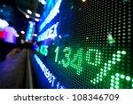stock market price display   Shutterstock . vector #108346709