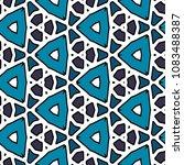 hexagonal symmetry vector... | Shutterstock .eps vector #1083488387