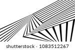 black and white stripe line... | Shutterstock .eps vector #1083512267