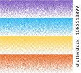 random striped halftone.... | Shutterstock .eps vector #1083513899