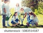 volunteering  charity  people... | Shutterstock . vector #1083514187
