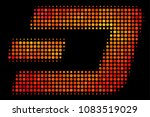 dotted dash currency icon.... | Shutterstock .eps vector #1083519029