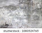 old wall grey grunge background ... | Shutterstock . vector #1083524765