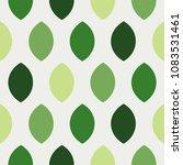 minimal simple green leaves... | Shutterstock .eps vector #1083531461
