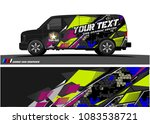 car livery graphic vector....   Shutterstock .eps vector #1083538721