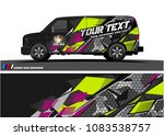 car livery graphic vector.... | Shutterstock .eps vector #1083538757