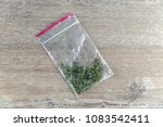 bag with  synthetic substance ... | Shutterstock . vector #1083542411