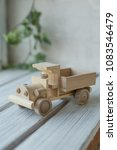 wooden toys  wooden plane and... | Shutterstock . vector #1083546479