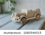 wooden toys  wooden plane and... | Shutterstock . vector #1083546515