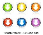 vector arrow buttons | Shutterstock .eps vector #108355535