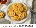 homemade smiley face french... | Shutterstock . vector #1083556781