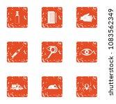 poison disease icons set.... | Shutterstock .eps vector #1083562349