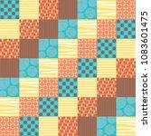 funky scrapbook elements... | Shutterstock .eps vector #1083601475