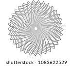 vortex background  star spiral... | Shutterstock .eps vector #1083622529