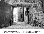 Archway In The Medieval Town Of ...