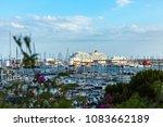 palma de mallorca  spain. july... | Shutterstock . vector #1083662189