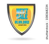 next sale image. vector sale... | Shutterstock .eps vector #108368234