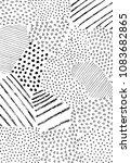 abstract  black strokes  hand...   Shutterstock .eps vector #1083682865