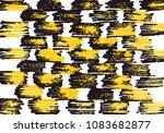 abstract  black strokes  hand... | Shutterstock .eps vector #1083682877