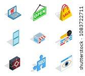 modern world icons set....