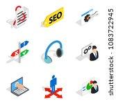 internet reality icons set....